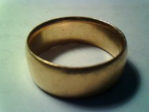 Gold Mens Wedding Band in Alamogordo, New Mexico