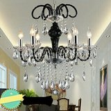 Modern Luxury K9 Crystal Chandelier in Schofield Barracks, Hawaii