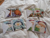 Christmas cards for kids in Ramstein, Germany