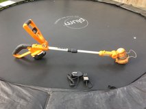 Worx 18v battery strimmer us plug in Lakenheath, UK