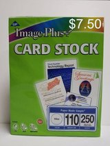 "NIP!  8 1/2"" x 11"" WHITE/PASTEL/IVORY CARD STOCK PKGS in Bartlett, Illinois"