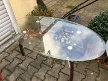 Glass tables set of 3 in Ramstein, Germany