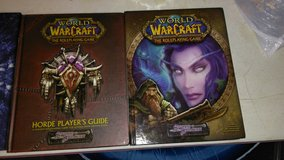 4 World of Warcraft role playing game books in Clarksville, Tennessee