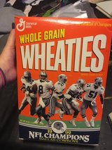 1992 Wheaties box in Denton, Texas