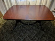 Double Pedestal Dining Table in Sandwich, Illinois