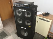 Hartke Bass system, Head + 2 Boxes, unused in Grafenwoehr, GE