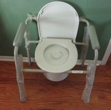 New Portable Handicap Commode Chair in Warner Robins, Georgia