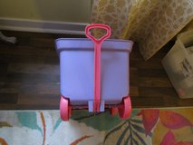 Little Plastic Wagon & 3 Other Toys in Naperville, Illinois