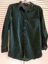 ladies dark green long sleeved shirt/jacket in Camp Pendleton, California