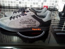 mens  superdry trainers  size 9 in Lakenheath, UK