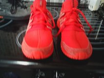 adidas  trainers  red size 7.5 in Lakenheath, UK