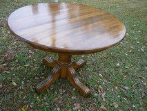 Round Wood Table in Fort Campbell, Kentucky