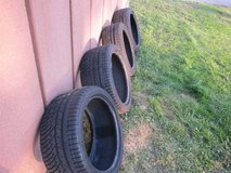4 Tires MICHELIN PILOT ALPIN PA4 WINTER/SNOW PERFORMANCE TIRES in Fort Bliss, Texas