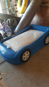 Toddlers Car Bed with Mattress in New Lenox, Illinois