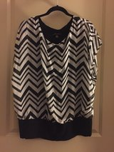 Women Plus Size Top XL white and black in Spring, Texas