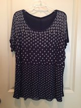 Women Plus Size Top 2XL Blue in Spring, Texas