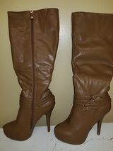 Women's Brand New  Taupe knee high boots size 8.5 in Hinesville, Georgia