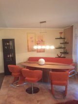 Dining Set, table, bench, chairs in Ramstein, Germany