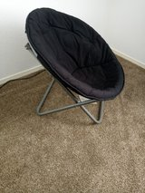 black mushroom chair in Las Cruces, New Mexico