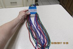 Set Of 8 Mardi Gras // Party Beads - NWT in Kingwood, Texas
