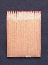 RARE! Authentic Civil War Wood Matches in Myrtle Beach, South Carolina