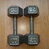 Dumbells in Ramstein, Germany