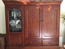 "Hooker Furniture Entertainment Center Maple and Cherry Solids will hold a 40"" TV in O'Fallon, Missouri"