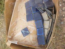 box of tiles in Alamogordo, New Mexico
