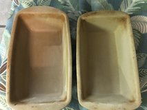Pampered Chef stone loaf pans, muffin pan, and casserole in Cherry Point, North Carolina