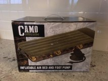 Air Bed -- Camouflage NEW IN BOX! in Naperville, Illinois