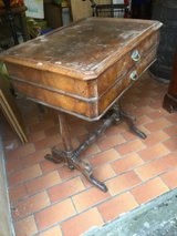 old antique sewingtable in Ramstein, Germany