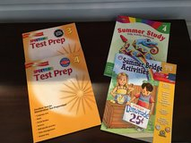NEW/UNUSED Set of 4 Grade 3-4 Workbooks: Test Prep + Summer Study in Naperville, Illinois