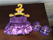 NEW Build-a-Bear Purple Dress and Matching Shoes in Naperville, Illinois
