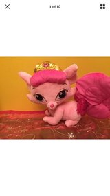 "Disney Palace Pets Sleeping Beauty Plush Pink Kitty Cat  13"" long in Naperville, Illinois"