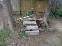 Free Outdoor scrap wood cut up trees & decking piece in Houston, Texas