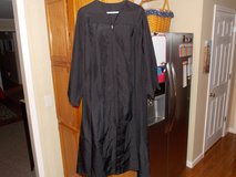 Men's Black Graduation Gown in Fort Campbell, Kentucky