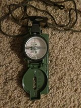 Genuine Military Lensatic Compass in Camp Pendleton, California