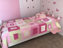 Legare Select Princess Twin Bed, Pink with mattress in Wheaton, Illinois