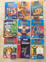 18 Leap Frog BOOKS & Cartridge in Naperville, Illinois