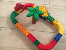 Lego Duplo car track in Ramstein, Germany