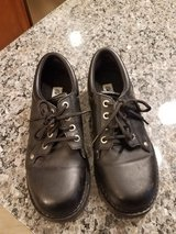 Black shoes for boys size 5 1/2 in Naperville, Illinois