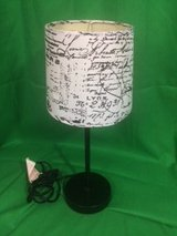 Table Lamp: Blk/Wht French in Birmingham, Alabama