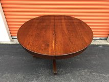 "Oak Round Table w/ Pedestal Base 48 1/2"" R in Cherry Point, North Carolina"