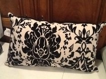 Pillow ..Brand new ... black and white in Plainfield, Illinois
