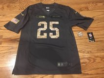 "RICHARD SHERMAN ""Salute to Service"" Stitched Nike jersey (Men's Small) *** NEW with Tags in Fort Lewis, Washington"