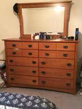 Vaughan Bassett solid oak dresser in Fort Leonard Wood, Missouri