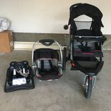 Baby trend expedition jogger travel system in Oceanside, California