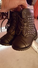 Blk Infant Boots 5 new in Hinesville, Georgia