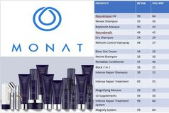 MONAT Hair Products 15-40% off retail prices! in Watertown, New York