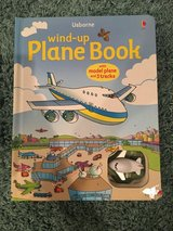 Usborne wind up plane book in Plainfield, Illinois